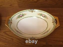3 Vintage Meito China pattern MEI123 Serving Bowls withfloral sprays Excellent
