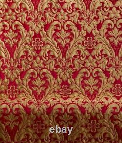 Floral Pattern Church Liturgical Brocade Quality Fabric Vestment 150cm wide new