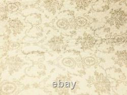 French Medallion Ivory 100% Cotton Quilt Set, Bedspread, Coverlet