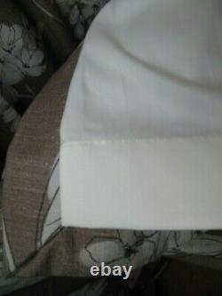 Hydrangea Pattern Lined Curtains L164cmX W160cm each Professionally made Pair A