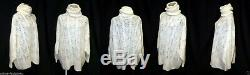 John Galliano Christian Dior Boutique Floral Lace Pattern Oversized Cozy Sweater