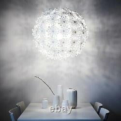 New Ikea Grimsas Pendant Lamp Projects Decorative Patterns Onto The Ceiling, Wall