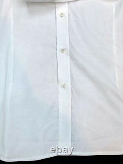 Robert Graham Embroidered Floral Long Sleeve Tonal-Patterned Weave Shirt 3XL