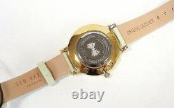 TED BAKER LONDON Women's Watch Floral Pattern Leather Band TE50494004 New