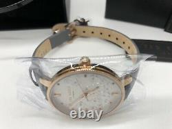Ted Baker Ladies London Quartz Rose Gold Patterned Face Watch TE50013015 New