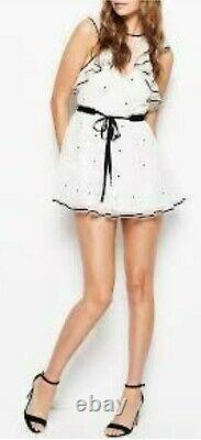 Alice Mccall'fresh Comme Une Robe Daisy' En Blanc Motif Floral Mini Robe Taille 6