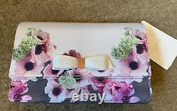 Bnwt Authentique Ted Baker Napolitain Bow Small Evening Bag Crossbody Or Clutch Bnwt Genuine Ted Baker Napolitan Bow Small Evening Bag Crossbody Or Clutch Bnwt Genuine Ted Baker Napolitan Bow Small Evening Bag Crossbody Or Clutch Bnwt Genuine Ted Baker