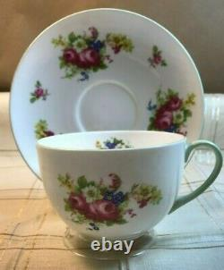 Rare Shelley Giant Farmer's Cup Hulmes Rose Pattern 13240